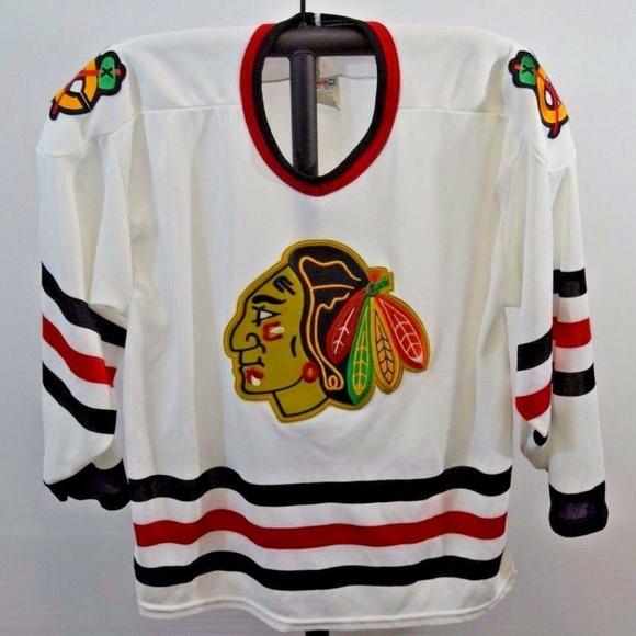 Chicago Blackhawks CCM Jersey Pullover Hoodie